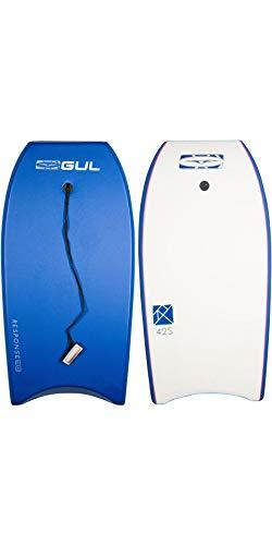 GUL Response Adult Unisex 42 Bodyboard in Blau - Boogie-Board mit hellem Design und strapazierfähigem Finish - Leine inklusive