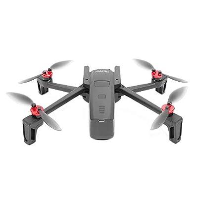 Kismaple Anafi Accessories 2 Set - Motor Cap Cover Protector + Landing Gear Legs Extender Increase for Parrot Aanfi Drone