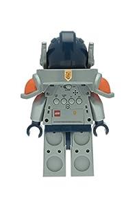 LEGO NEXO KNIGHTS arcilla Mini figura reloj despertador, plástico, multicolor, color