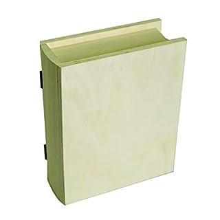 Artemio Wooden Book Box, 17 cm x 21 cm x 7 cm