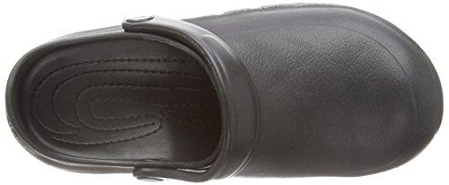 Toffeln - Eziprotekta, Calzature Di Sicurezza, unisex, Bianco (Bianco (White)), 39 Black (Black)