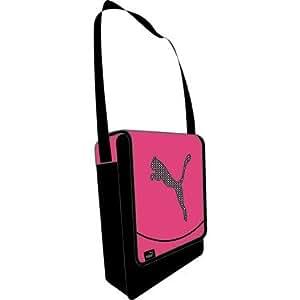 PUMA Umhängetasche Big Cat Portable, cabaret-black, 17 x 22 x 8 cm, 2.5 liters, 070313 11