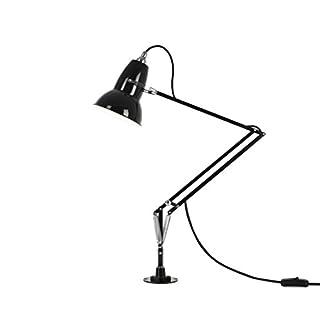 Anglepoise Original 1227 Desk Lamp with Desk Insert, Jet Black