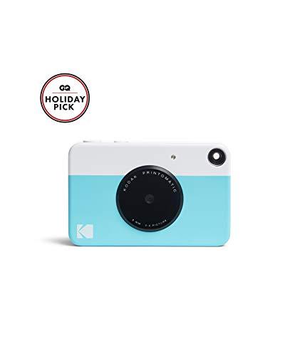 Kodak PRINTOMATIC Digitale Sofortbildkamera, Vollfarbdrucke auf Zink 2x3-Fotopapier mit Sticky-Back-Funktion - Drucken Sie Memories Sofort (Blau)