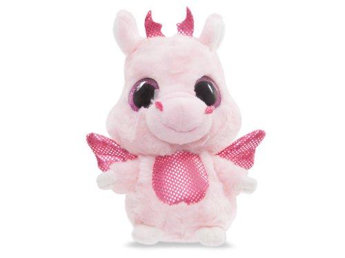 YooHoo & Friends - Dragón, peluche con ojos brillantes, 13 cm (Aurora...