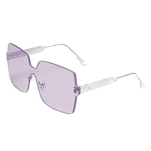 KItipeng Unisex Vintage Sonnenbrillen Retro Eyewear Mode Strahlenschutz Ultraleicht Rahmen Oversized Brillen