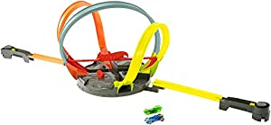 Hot Wheels Pista Megalooping Infernal, pista de coches de juguete (Mattel FDF26)