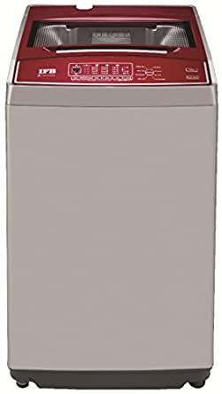 IFB AW7201RB Electronic Top-loading Washing Machine (7.2 Kg, Silver and Red)