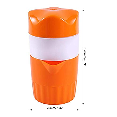 Portable Manual Juicer Orange Lemon Mini Squeezer Original Fruit Juice Maker For Household