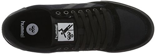 hummel Slimmer Stadil Tonal Low, Sneakers Basses Mixte Adulte Noir (Black)