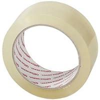 Nastro adesivo per pacchi, uso industriale 38 mm x 66 m trasparente - rotolo singolo trasparente