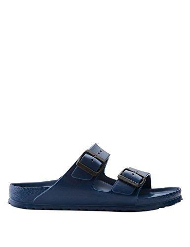 Birkenstock 129431classic arizona eva, sandali unisex adulto, blu (marina militare), 46 eu