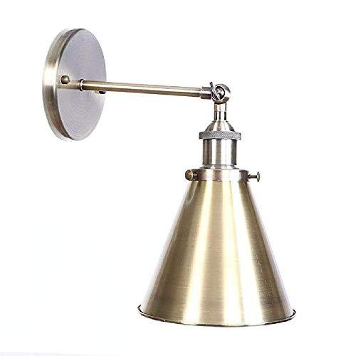 Kronleuchter Eisen Retro Wand LichtGrün Bronze E27 Indoor Vintage Single Head Wandleuchte Industrielle Metall Wand Wash Lampe für SchlafzimmerKücheRestaurantDachboden -