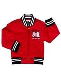 SRK-Sweat teddy niño 10/16 años ECYTEL1016- rojo-14 años