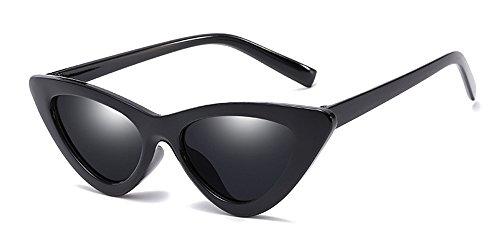 KINDOYO Damen-Katzenaugen-Sonnenbrille, Retro Sonnenbrille, UV-Sonnenbrille, nicht polarisierte Sonnenbrille