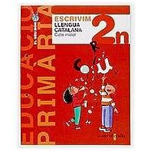 Escrivim. Llengua catalana 2n. Cicle inicial. El meu món: Projecte El meu món - 9788466105552