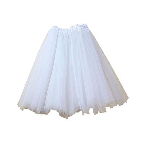 Mädchen Ballett Pettiskirt elastische Kleid Tutu 3 Schicht -