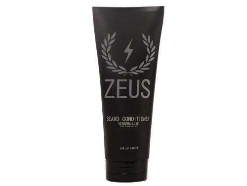 Zeus barba acondicionado lavado para hombres–Verbena Lime aroma–8oz–sulfate-free, rinse-out Suavizante