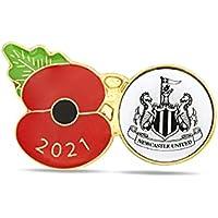 Newcastle United Poppy Football Pin 2021