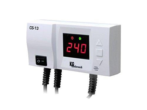 Top-ventil Regler (KG Elektronik - CS-13 Regelung zur Rücklauftemperaturanhebung)