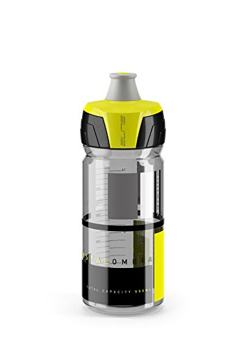 eLITe CrystalOmbra Trinkflasche, Smoke-Gelb, 550 ml