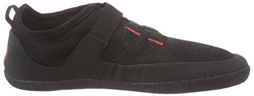 Sole Runner - Fx Trainer 3, Sneaker basse Unisex - Adulto Nero (Schwarz (black/red 05))