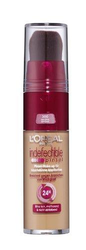 L'Oréal Paris Indefectible 24h Pinsel Make-Up, 300 Amber (Loreal Make-up Pinsel)