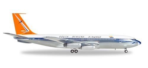 Herpa 558693 South African Airways Boeing 707-320-ZS-CKC Johannesburg