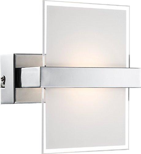 Globo - Lampada da parete cromata Debby