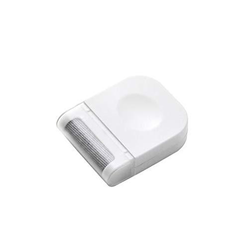 Zoe home 1 stück 6,4 * 2 * 8 cm Fussel Kleidung Pullover Rasierer Flusen Fuzz Stoffe Tragbare Entferner Pille Handheld Staub Fussel Entferner Pinsel (Color : White)
