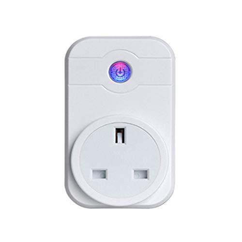WMIAO WiFi Smart Plug, Mobile APP  Fernbedienungs-Timer/Remote-Switch-Steckdose Alexa Voice Control Goole  Assistabt, IFTTT, Goole Home