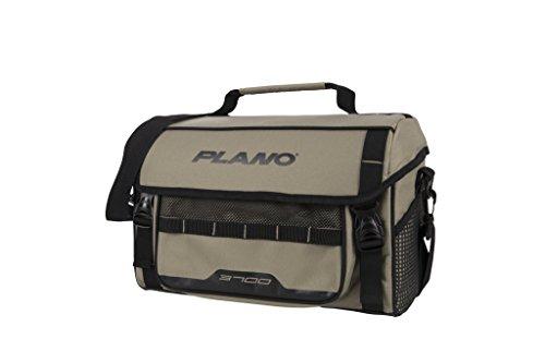 Plano PLAB37121 Weekend Serie 3700 Softsider Tackle Bag, Unisex-Erwachsene, Weekend Series 3700 Size Softsider Tackle Bag, w/ 2-3700's, Tan, hautfarben, Einheitsgröße -