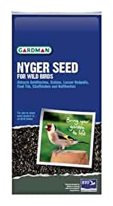Gardman Wild Bird Food Nyger Seed 1275kg from Gardman