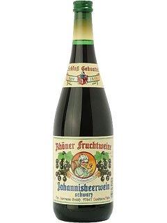 Rhöner Fruchtwein Johannisbeerwein schwarz 1,0 L