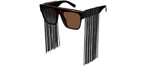 Stella McCartney Sonnenbrillen FALABELLA SC0127S HAVANA BLACK/BROWN Damenbrillen