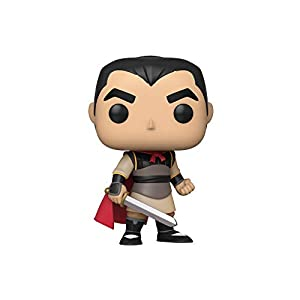 Funko Pop Li Shang (Mulán 631) Funko Pop Disney