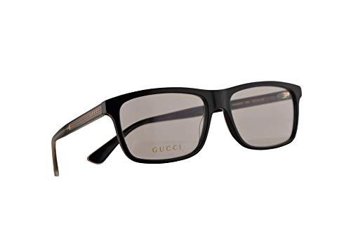 Gucci GG0384O Brillen 57-16-145 Schwarz Mit Demonstrationsgläsern 004 GG 0384O