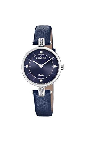 Candino Reloj Análogo clásico para Mujer de Cuarzo con Correa en Cuero C4658/3