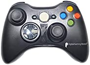 Digital Gaming World® Wireless Controller for Xbox 360 (Black Color)New Stock