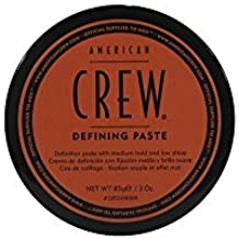 American Crew: Classic Defining Paste, 3 oz,Medium Hold, Low Shine,Matte Finish, Adds Texture Increases Definition, Includes Beeswax for Thicker, Fuller Appearance by AMERICAN CREW