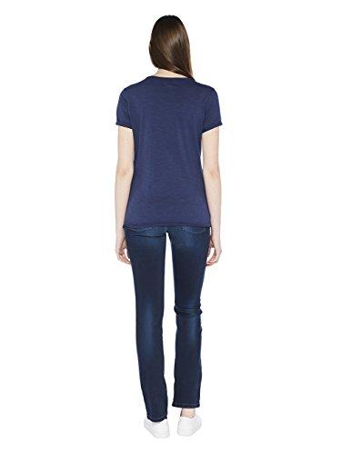 Colorado Denim Gina, T-Shirt Femme Blau (Mood Indigo 6078)
