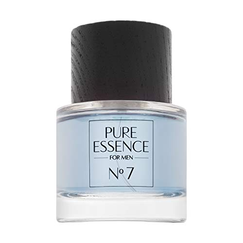 Paris Parfüm-flasche (Pure Essence for Men No 7 - Bleu - 50ml - Eau de Parfum 10% Parfümöl Vaporisateur/Spray)