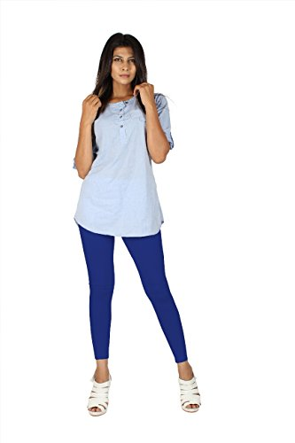 EERA Ankle Length Leggings Royal Blue
