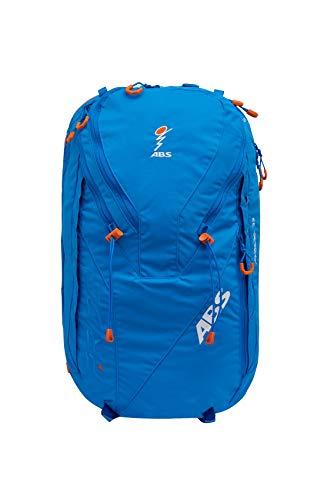 ABS Unisex- Erwachsene Lawinenrucksack Zip-On 32, Packsack für P.Ride Original und Vario Base Unit, Fach für Sicherheitsausrüstung, 32L Volumen, Ski-und Snowboardhalterung, Helmnetz, Ocean Blue, -