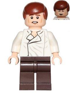 Lego star wars: han solo 75137 minifigura