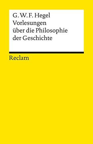 Universal-Bibliothek, Nr. 4881: Vorlesungen über die Philosophie der Geschichte