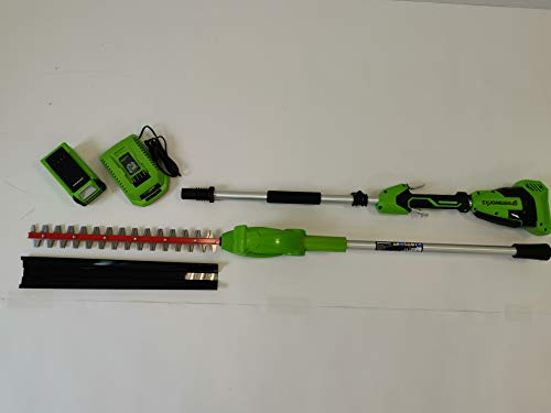 Greenworks Tools 40V Akku Heckenschere lang (2300407UA) + 1x2Ah Akku + Ladegerät