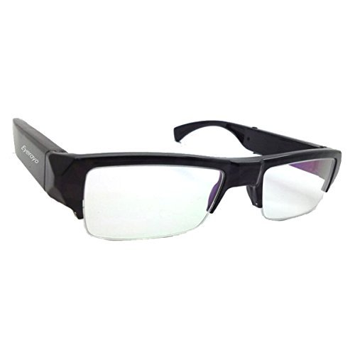5.0MP 30FPS fashion Full HD 1080P Spy Eyewear Glasses Camera Taking Picture Video Recorder Hidden Camera Glasses sunglesses sunglass Video Camera Mini Camcorder DV DVR Wide Angle-Lens Can not find any pinhole any lence any where MAX support 32GB Memory Card  available at amazon for Rs.10549