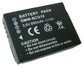 Lig0sh - PANASONIC DMWBCG10e / DMW-BCG10E / DMW-BCG10 / DMW BCG10e Compatible Digital Camera Battery For Panasonic DMC-TZ6 / DMCTZ6 / DMC-TZ7 / DMCTZ7 / DMC-TZ8 / DMCTZ8 / DMC-TZ9 / DMCTZ9 / DMC-TZ10 / DMCTZ10 / DMC-TZ18 / DMCTZ18 / DMC-TZ20 / DMCTZ20 / DMC-TZ65 / DMCTZ65 / DMC-ZR1 / DMCZR1 / DMC-ZR3 / DMCZR3 / DMC-ZS1 / DMCZS1 / DMC-ZS3 / DMCZS3 / DMC-ZS5 / DMCZS5 / DMC-ZS6 / DMCZS6 / DMC-ZS7 / DMCZS7 / DMC-ZS8 / DMCZS8 / DMC-ZS10 / DMCZS10 / DMC-ZX1 / DMCZX1 / DMC-ZX3 / DMCZX3 / (PLEASE NOTE THIS PRODUCT HAS LATEST CHIP INSTALLED NOW WORKS WITH FIRMWARE (1.1 , 1.2 , 1.3 and 1.4) ID SECURED