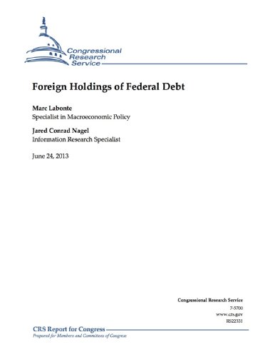 Foreign Holdings of Federal Debt (English Edition)